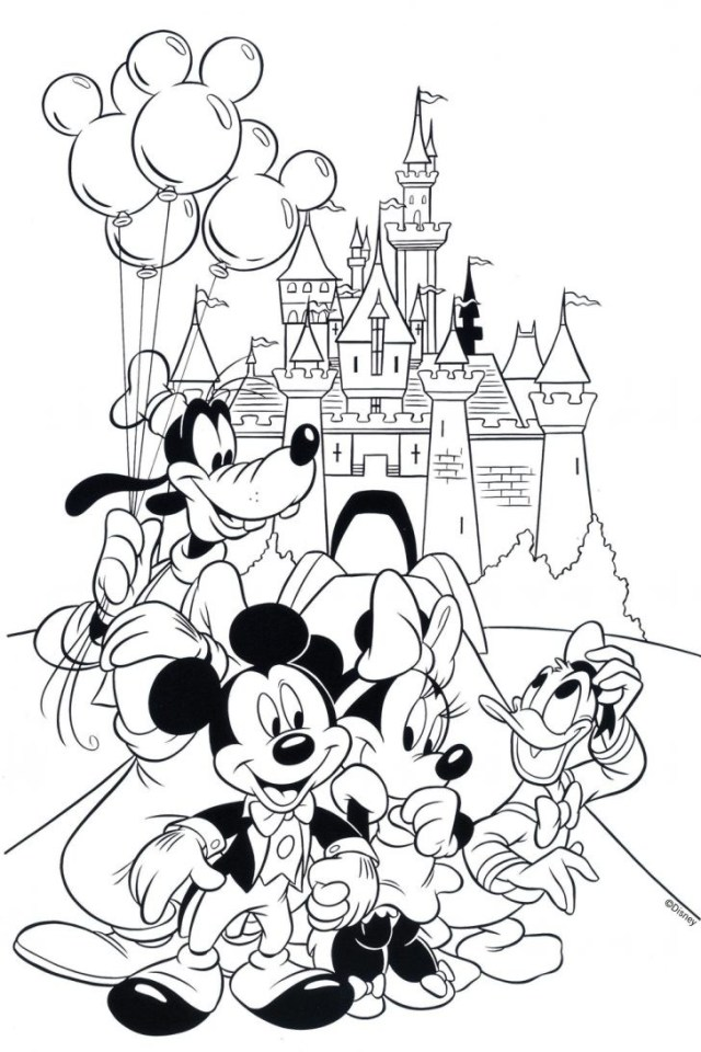 Coloriage Disney Mickey Mouse Clubhouse
