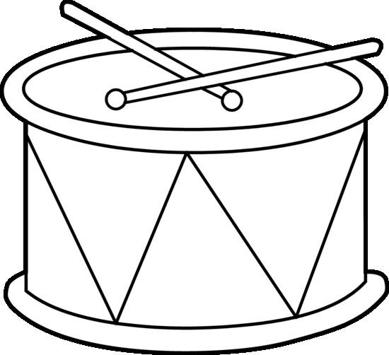 Coloriage à un tambour