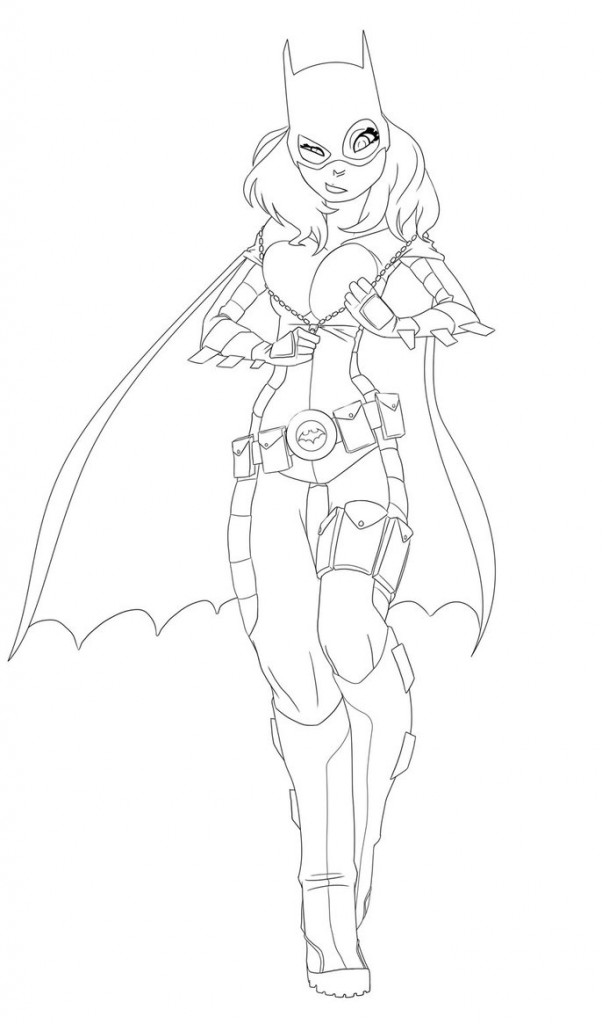 Coloriages Batgirl