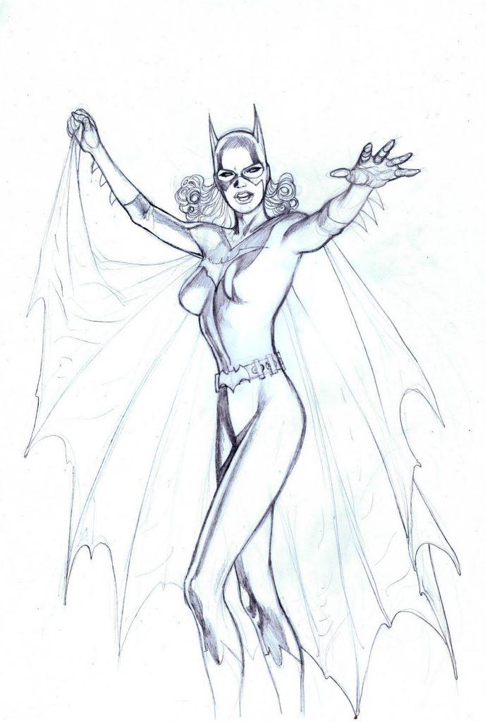 Coloriage Batgirl à Imprimer
