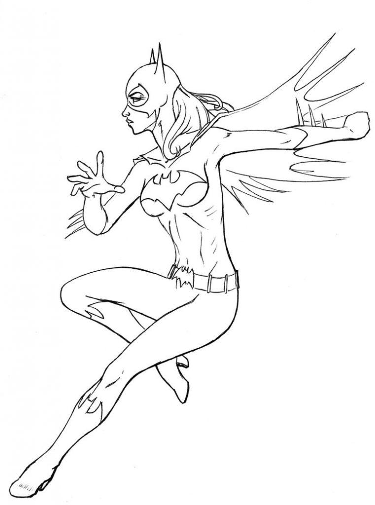 Coloriages de Batgirl