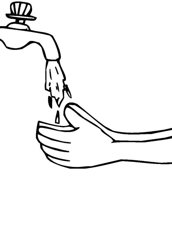 Coloriage à la main