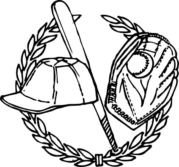 coloriage-chapeau-de-baseball