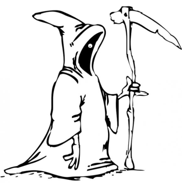 Coloriage Grim Reaper