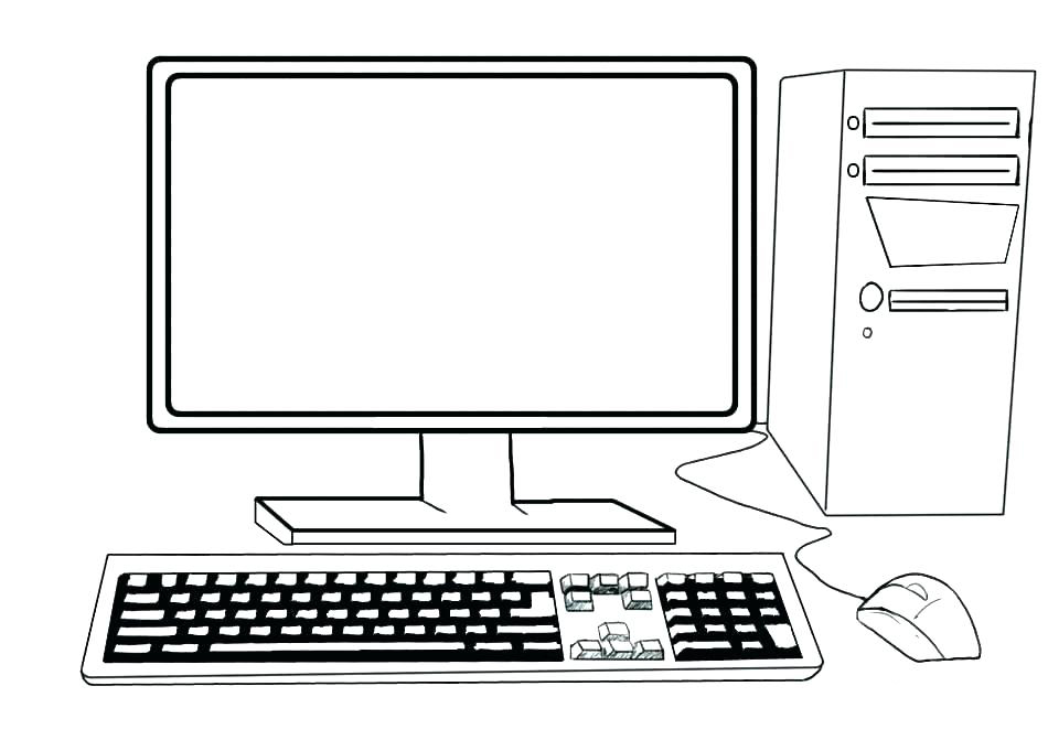 Coloriage ordinateur