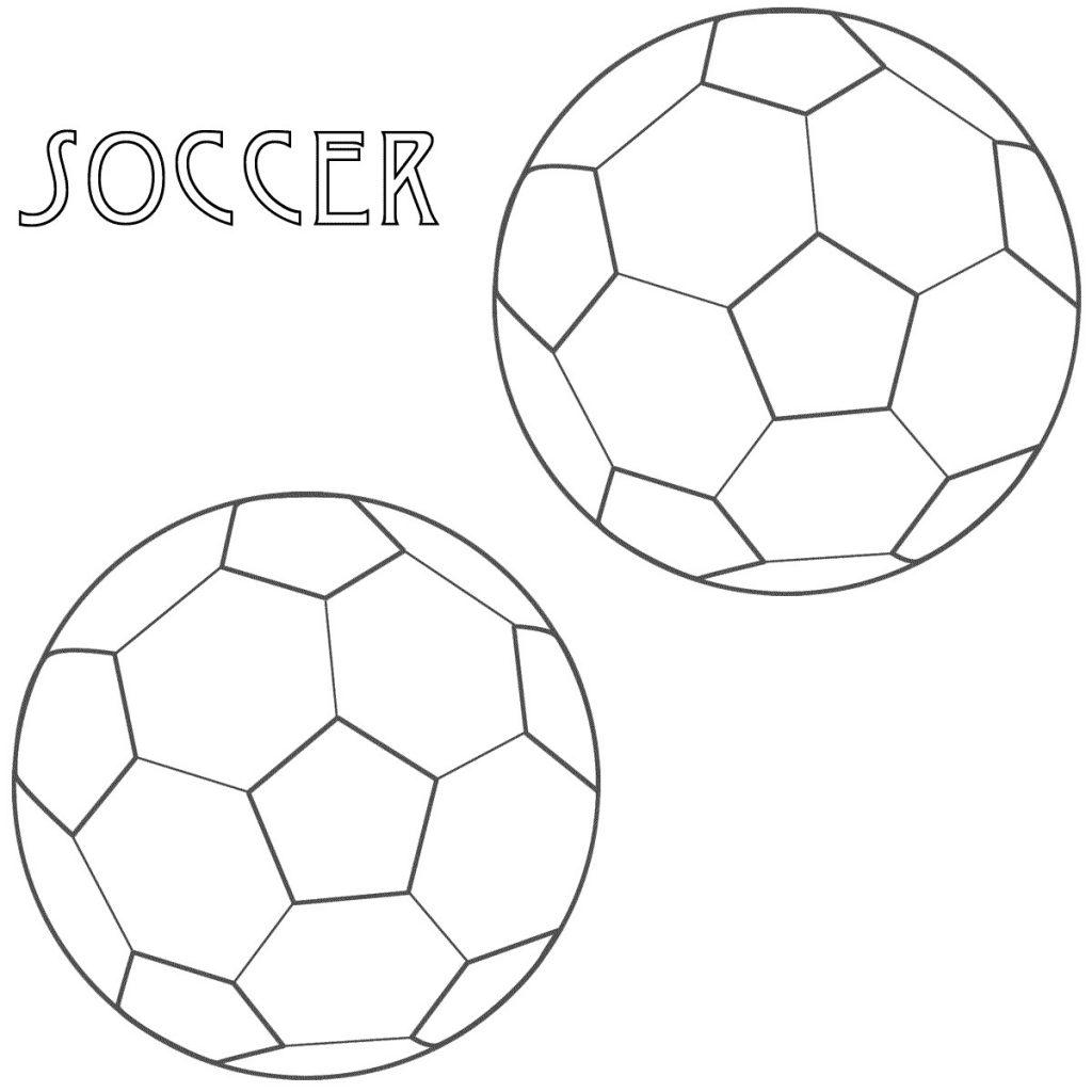 Coloriage de football