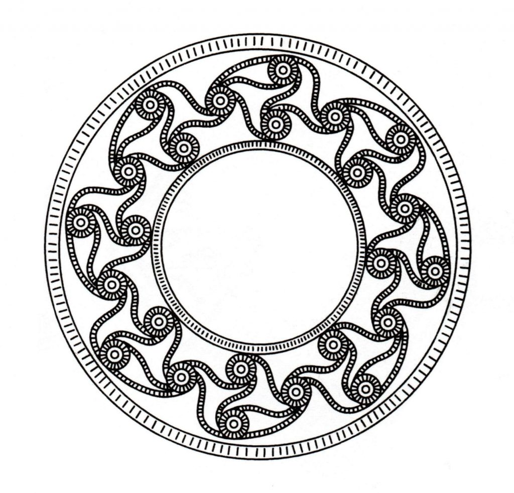 Symbole d'art celtique imprimable
