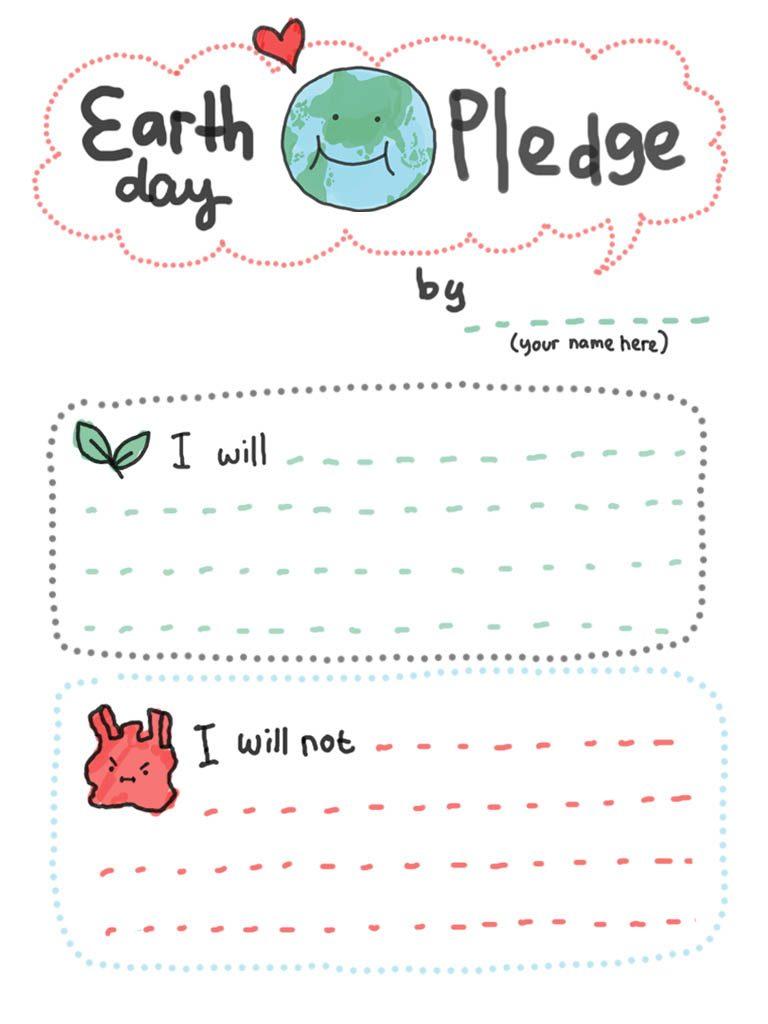 Feuille imprimable pour le Jour de la Terre