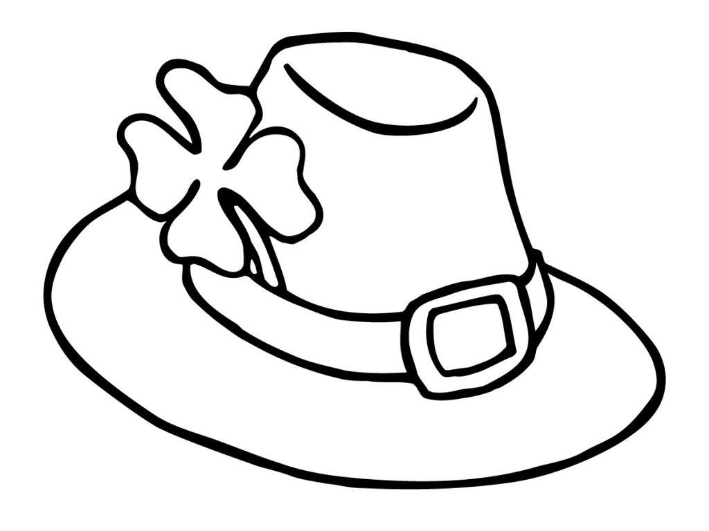 Coloriage Leprauchan Hat