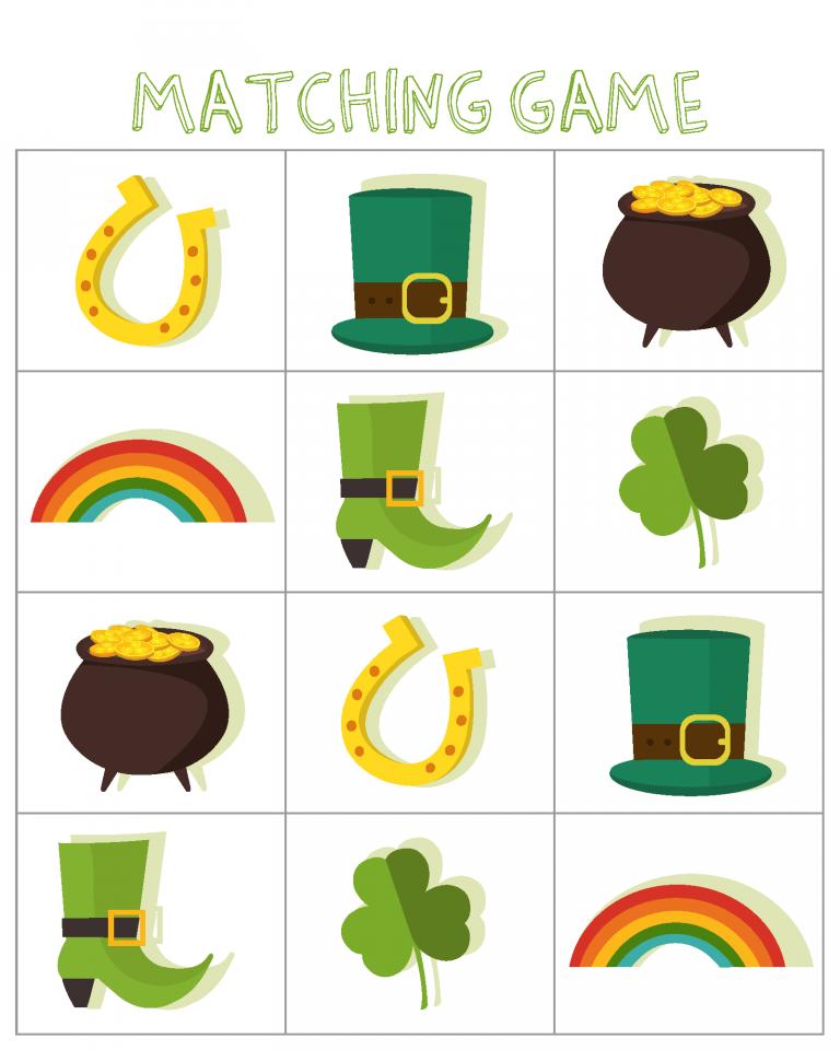 Puzzle correspondant de la Saint-Patrick