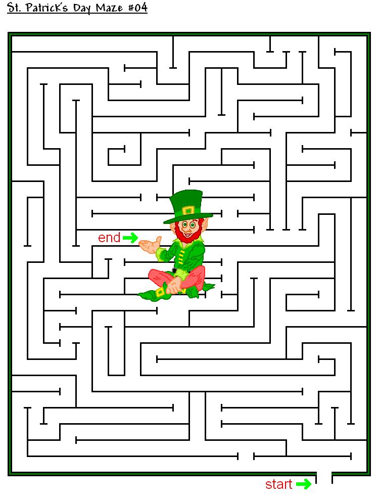 Labyrinthe de la Saint-Patrick