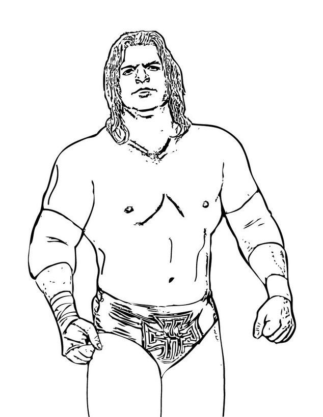 Coloriage WWE en ligne