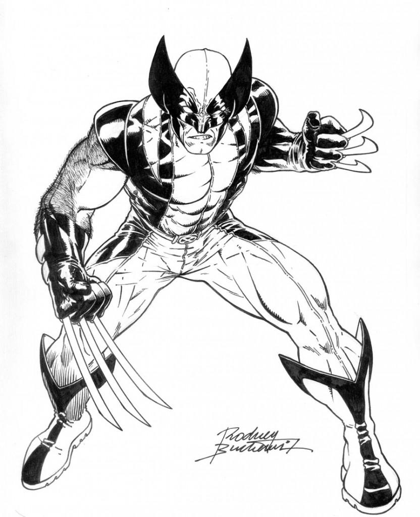 Coloriage Wolverine pour les enfants