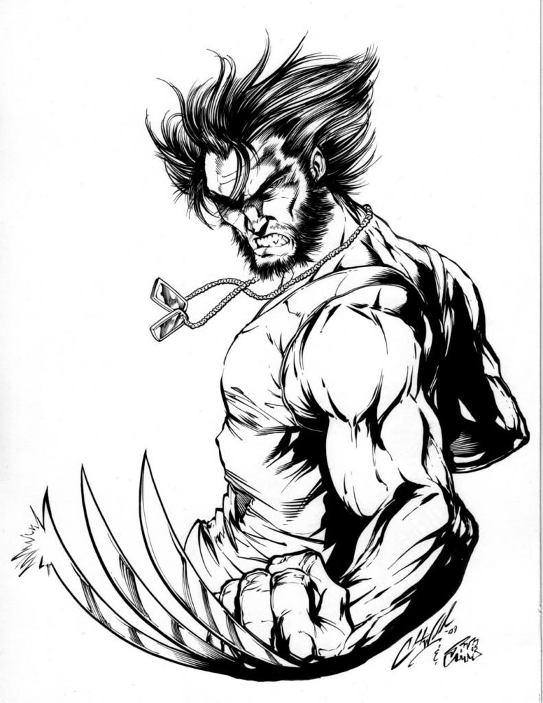 Coloriage Wolverine en ligne