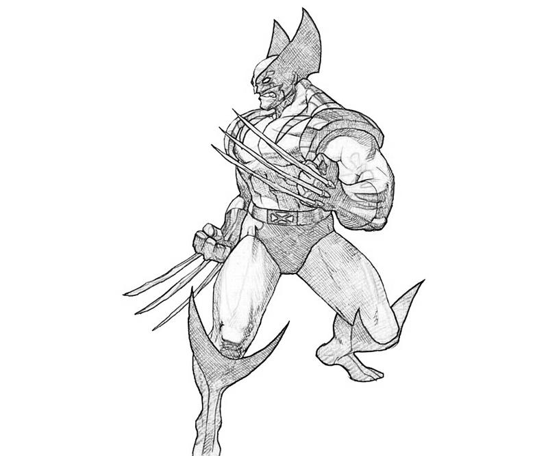 Wolverine ColorPages
