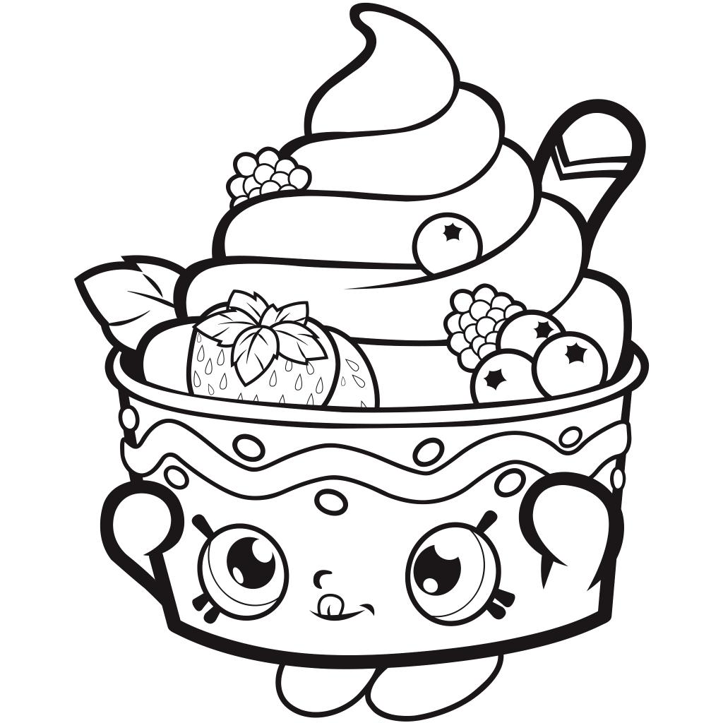 Télécharger gratuitement la page de coloriage Shopkins