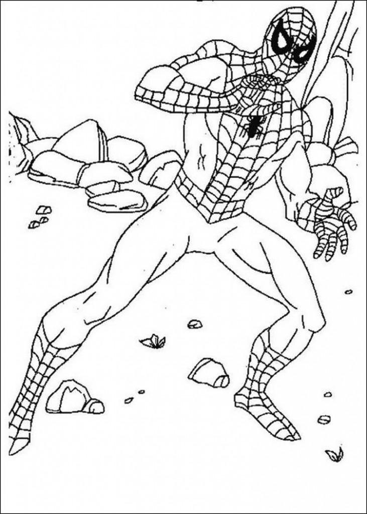 Coloriage Lego Spiderman