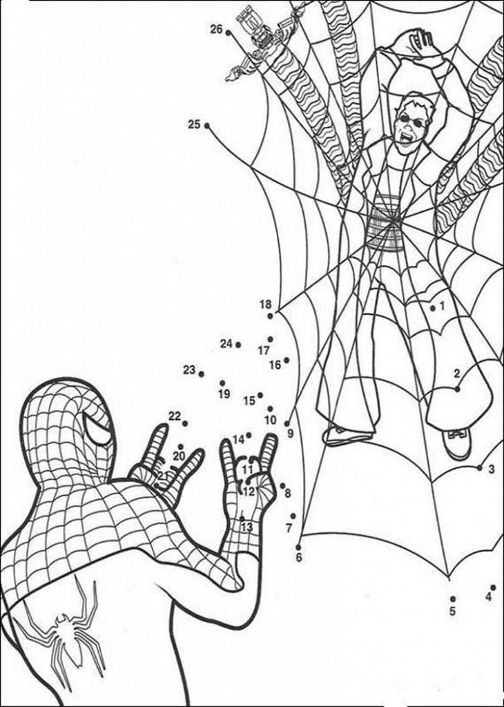 Coloriage Spiderman en ligne