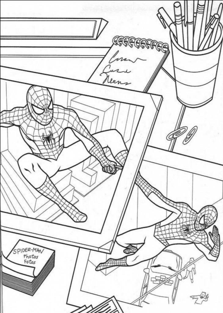 Pages couleur Spiderman