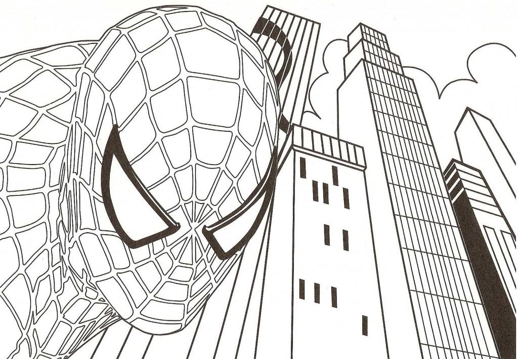 Jeux De Coloriage Spiderman