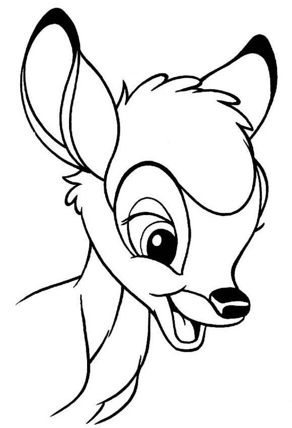 Coloriage Disney - Bambi