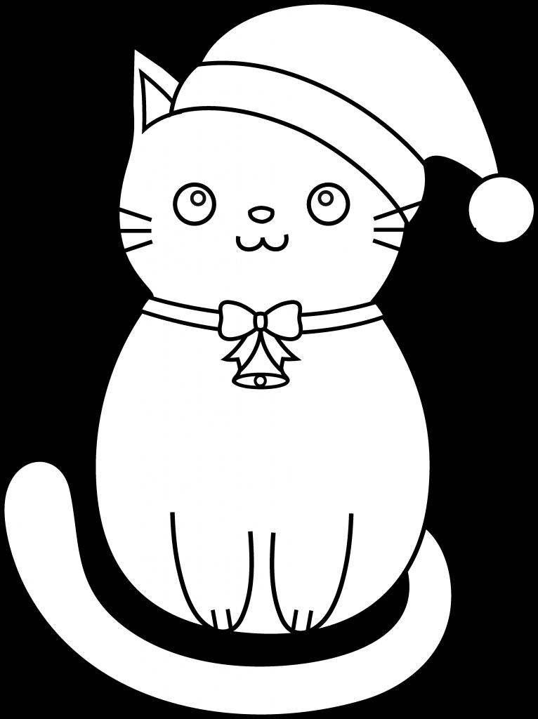 Coloriage chaton gratuit à imprimer