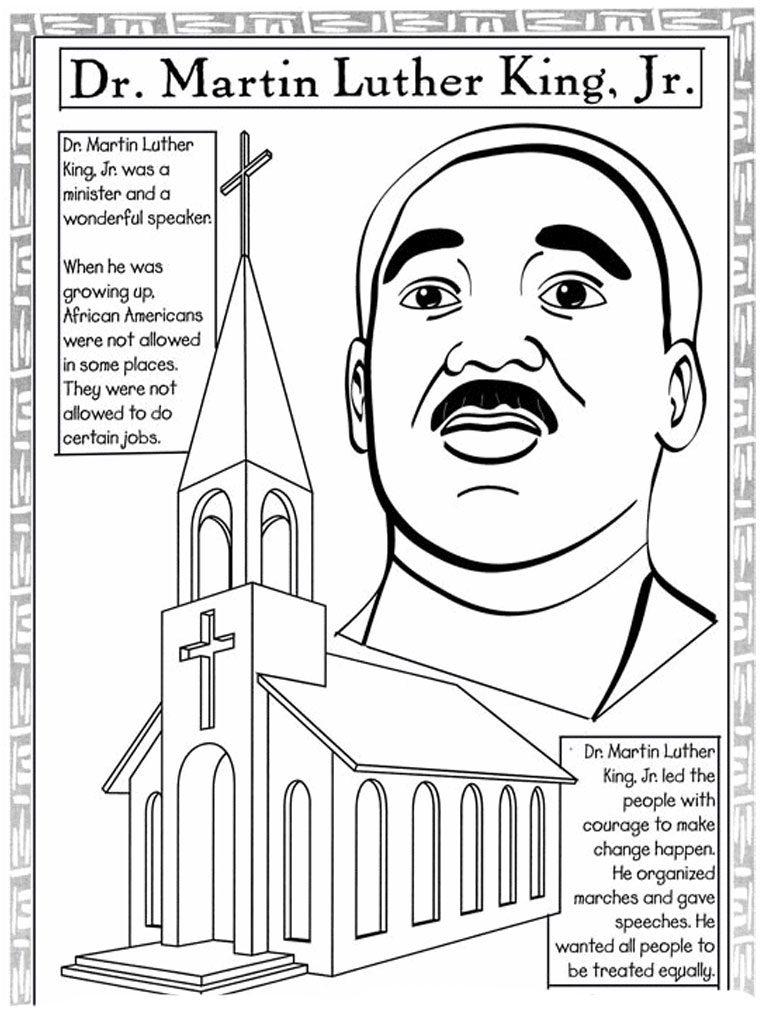 Feuilles de travail de Martin Luther King