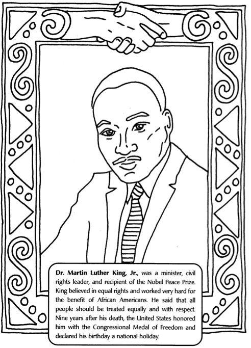 Feuille de travail de Martin Luther King
