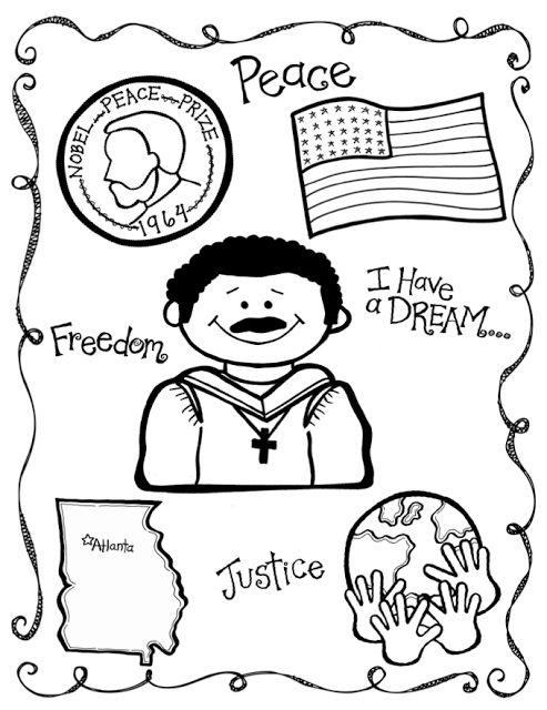 Feuilles de travail Martin Luther King Jr
