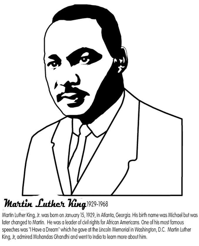 Fiche de travail Martin Luther King Info