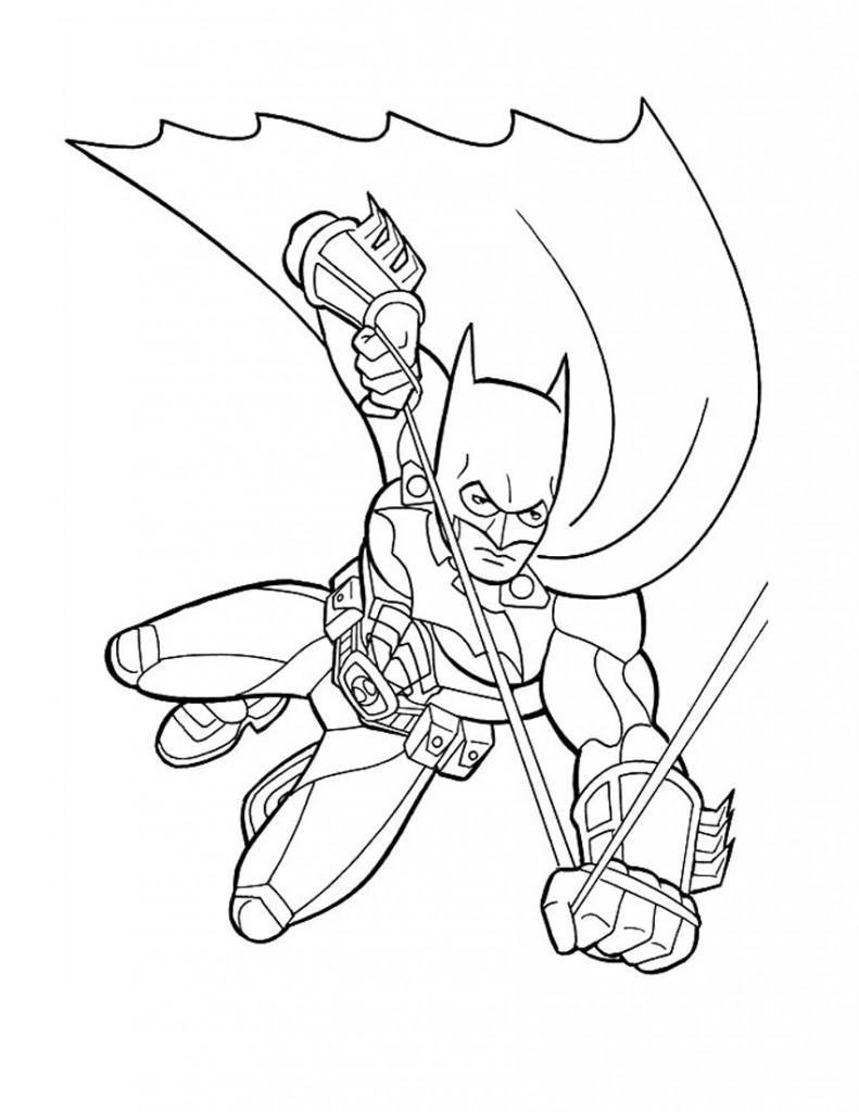 Pages de couleur de Batman
