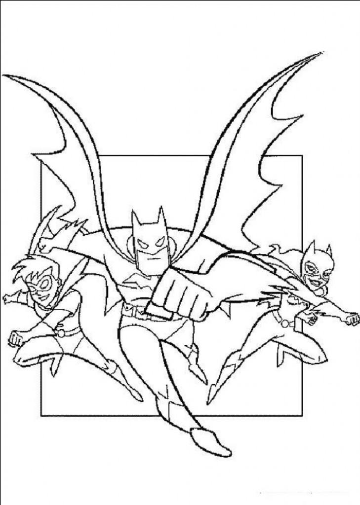Coloriage Batman pour les enfants
