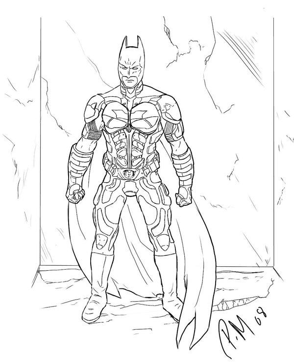 Coloriage Batman en ligne