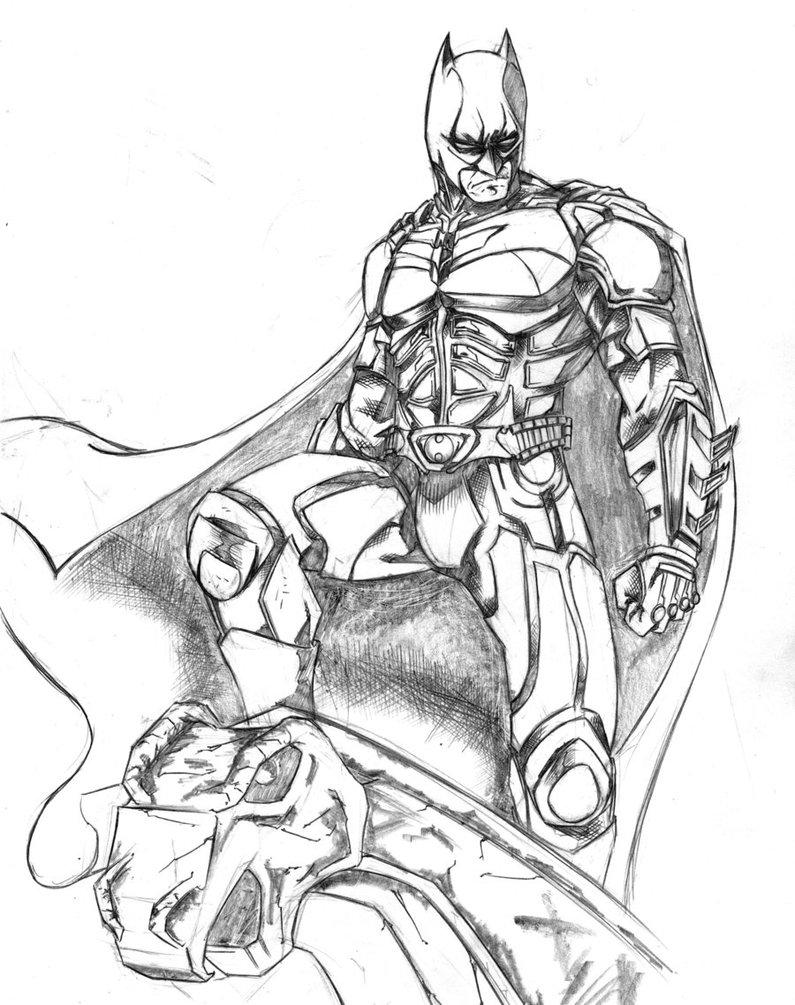 Coloriages Pour Enfants Batman