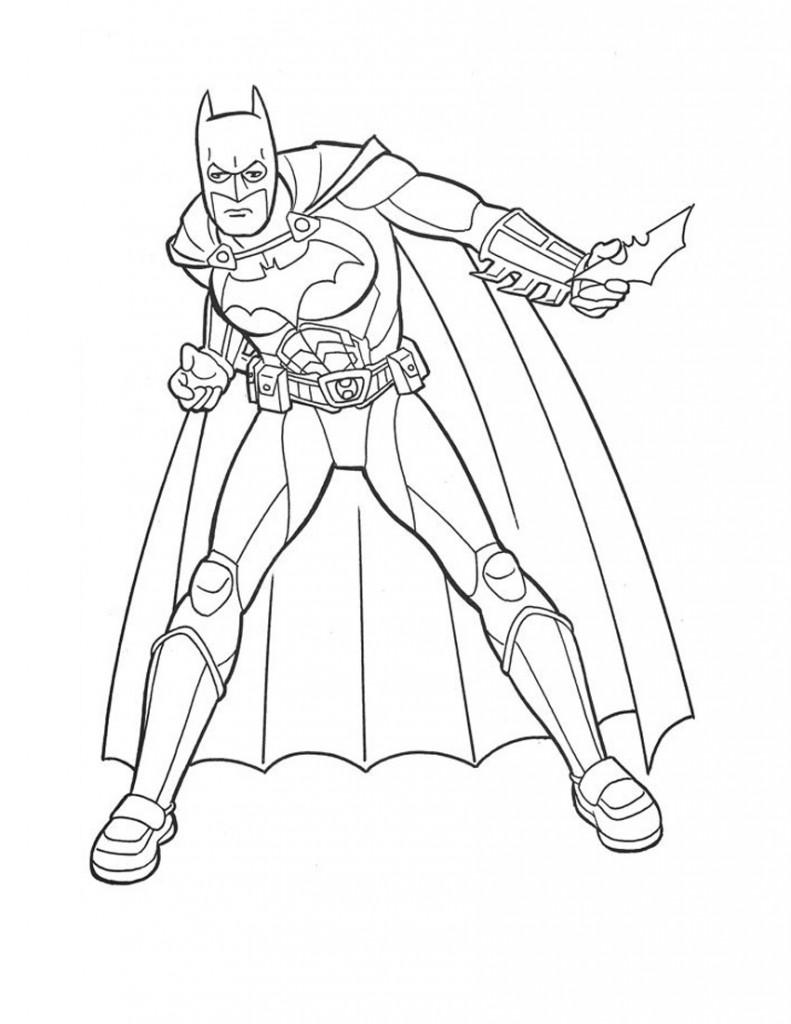Coloriage de Batman