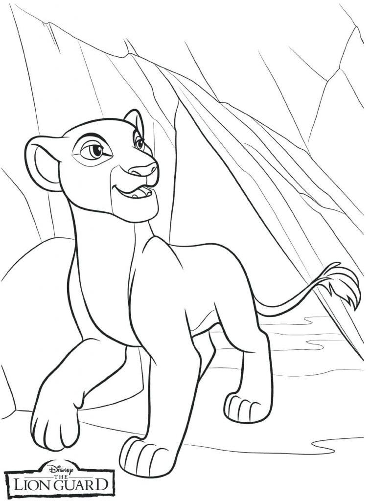 Imprimer gratuitement Lion Guard