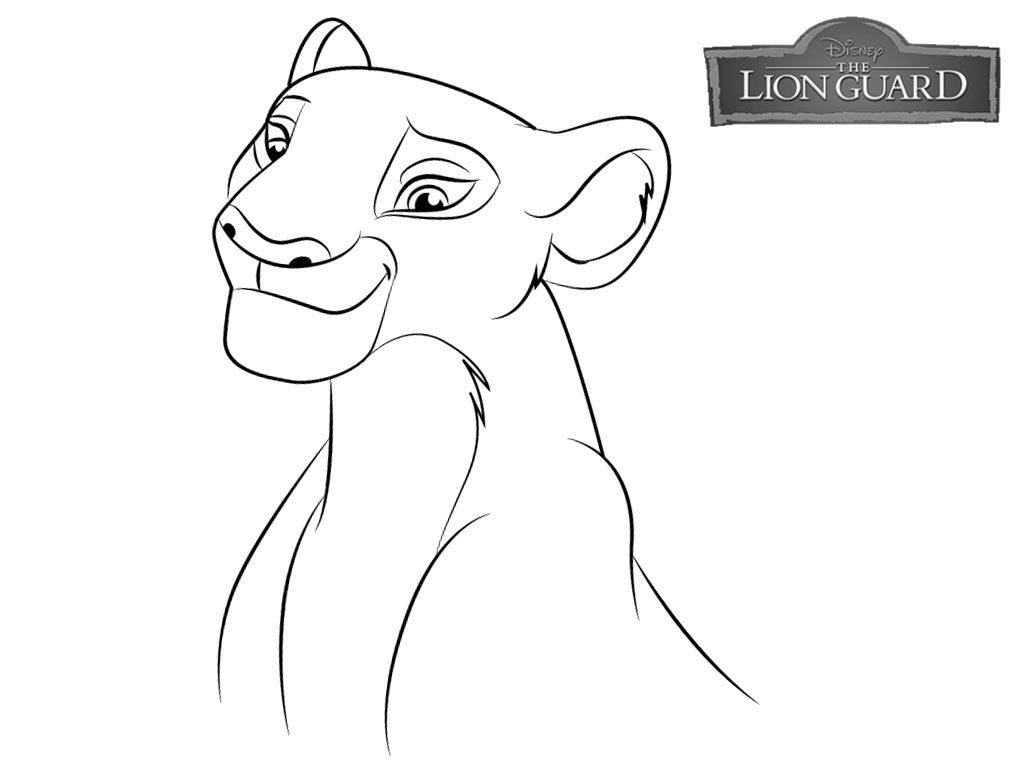 Coloriage Lion gratuit