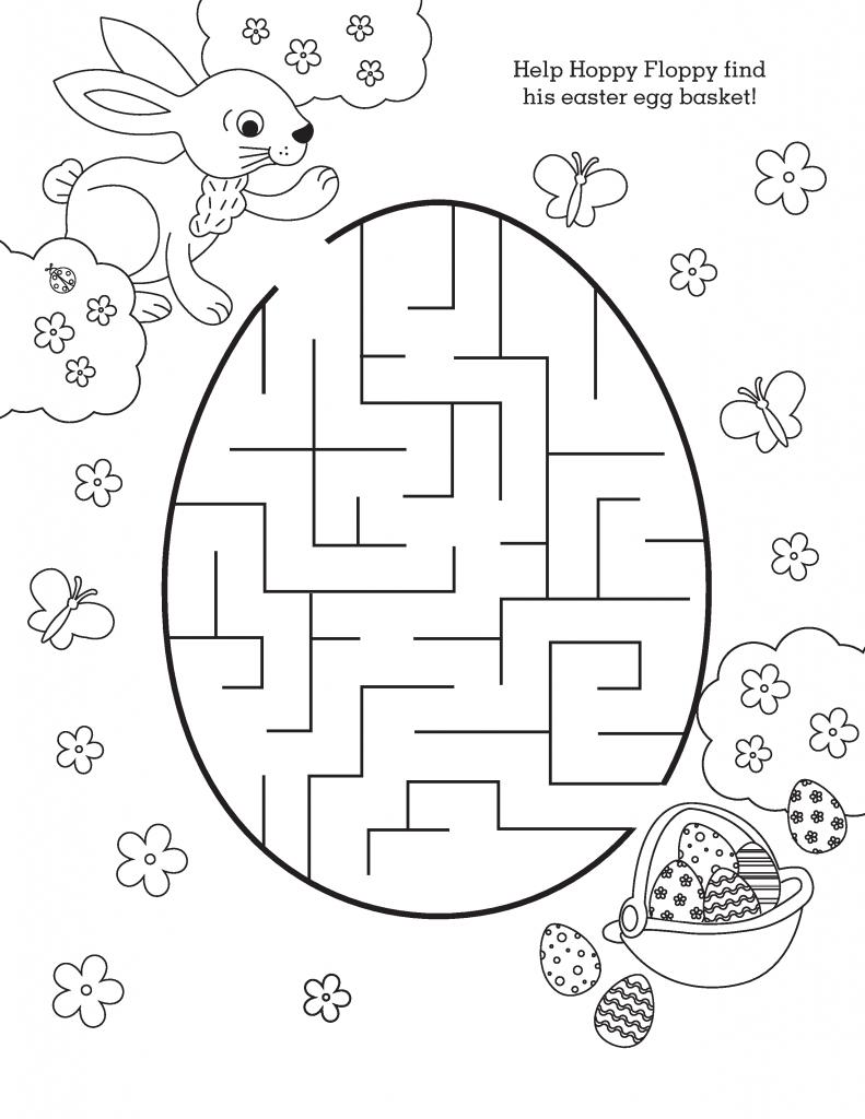 Labyrinthes de Pâques simples
