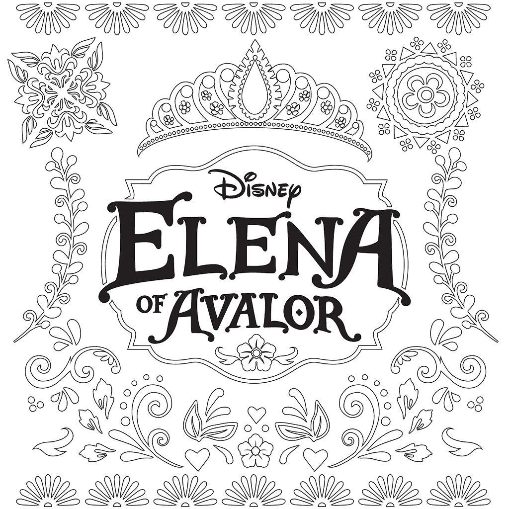 Coloriage Disney Elena d'Avalor