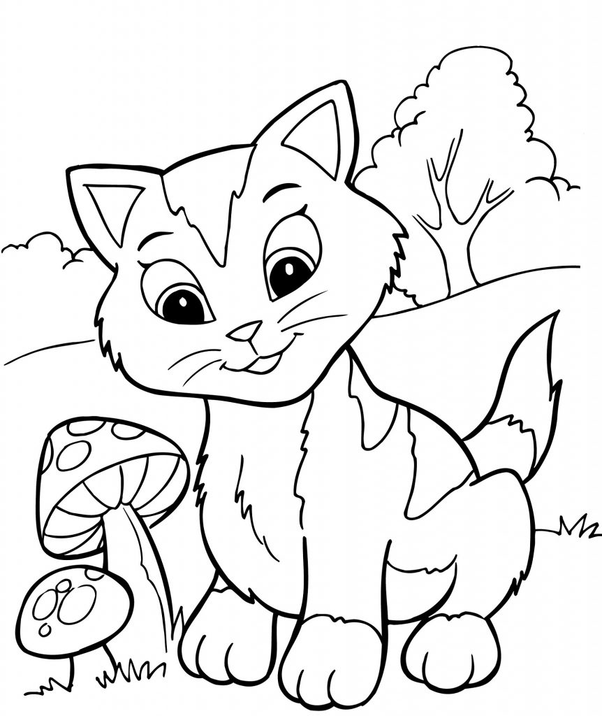 Coloriage chatons
