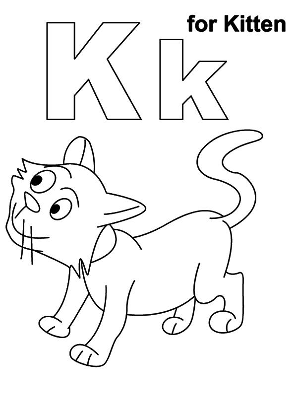 coloriages de chatons