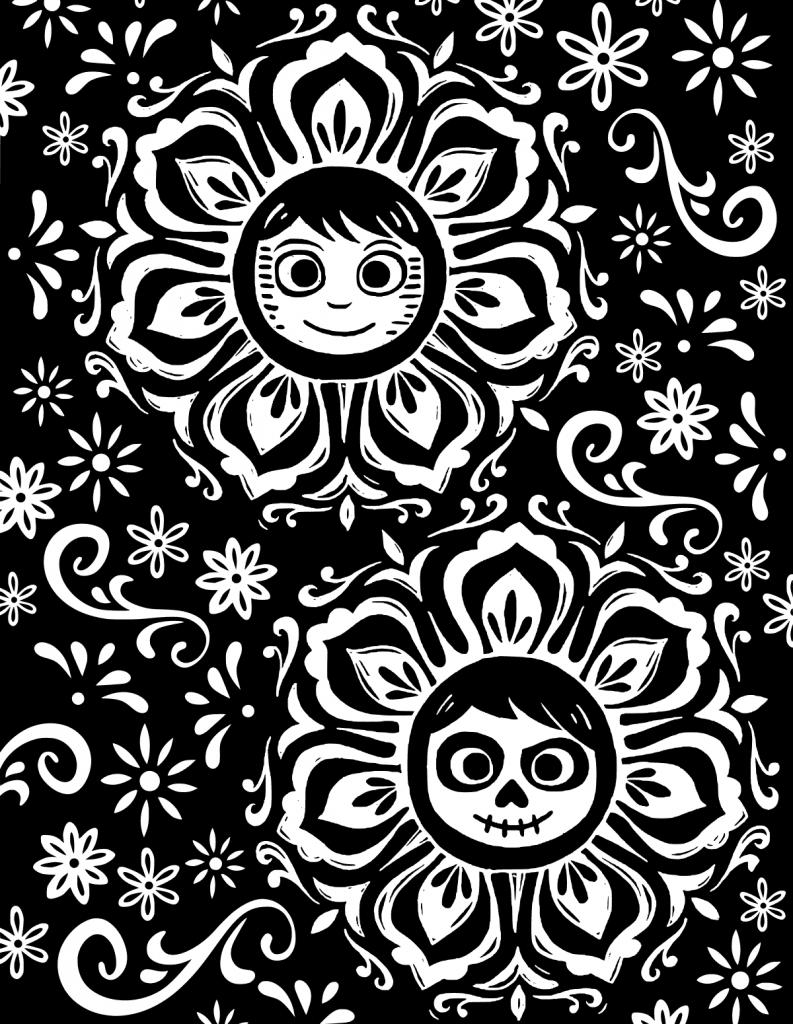 Coloriage Coco gratuit à imprimer