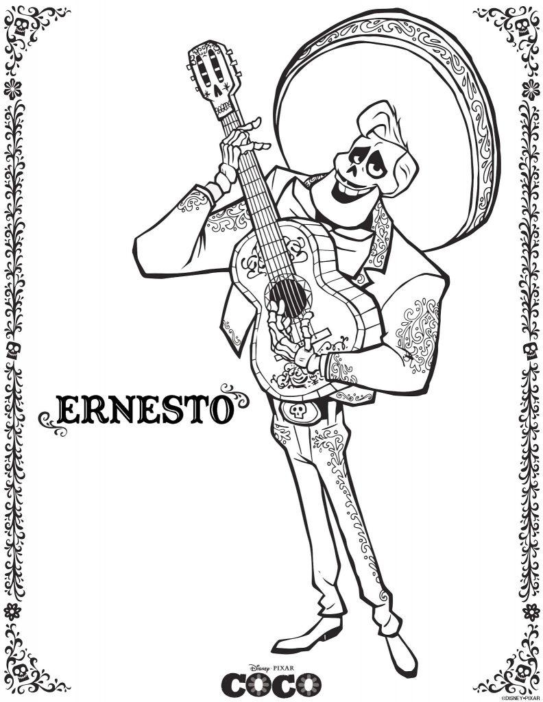 Ernesto - Coloriages Coco
