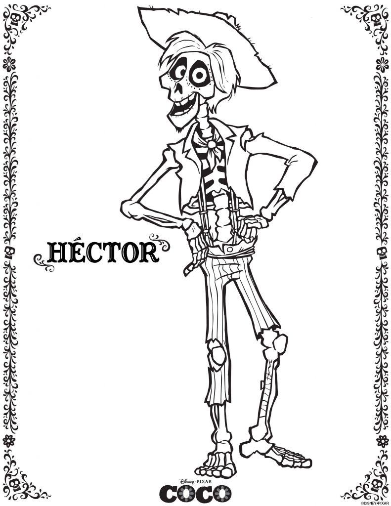 Hector - Coloriages Coco