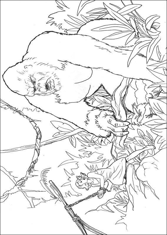 Coloriage King Kong rencontre Ann