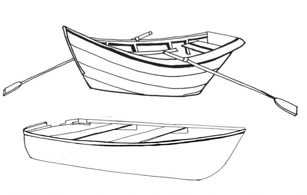 Coloriage bateau gratuit à imprimer