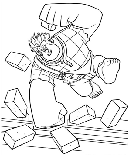 Coloriage Wreck-it Ralph