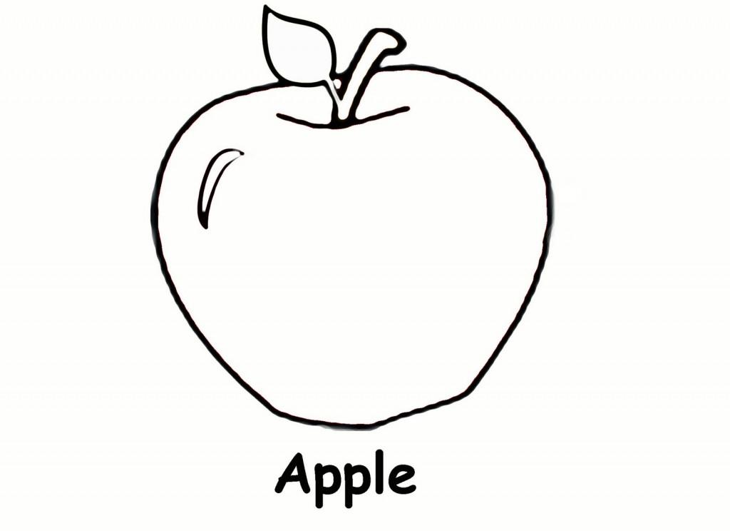Coloriage Pommes Gratuits