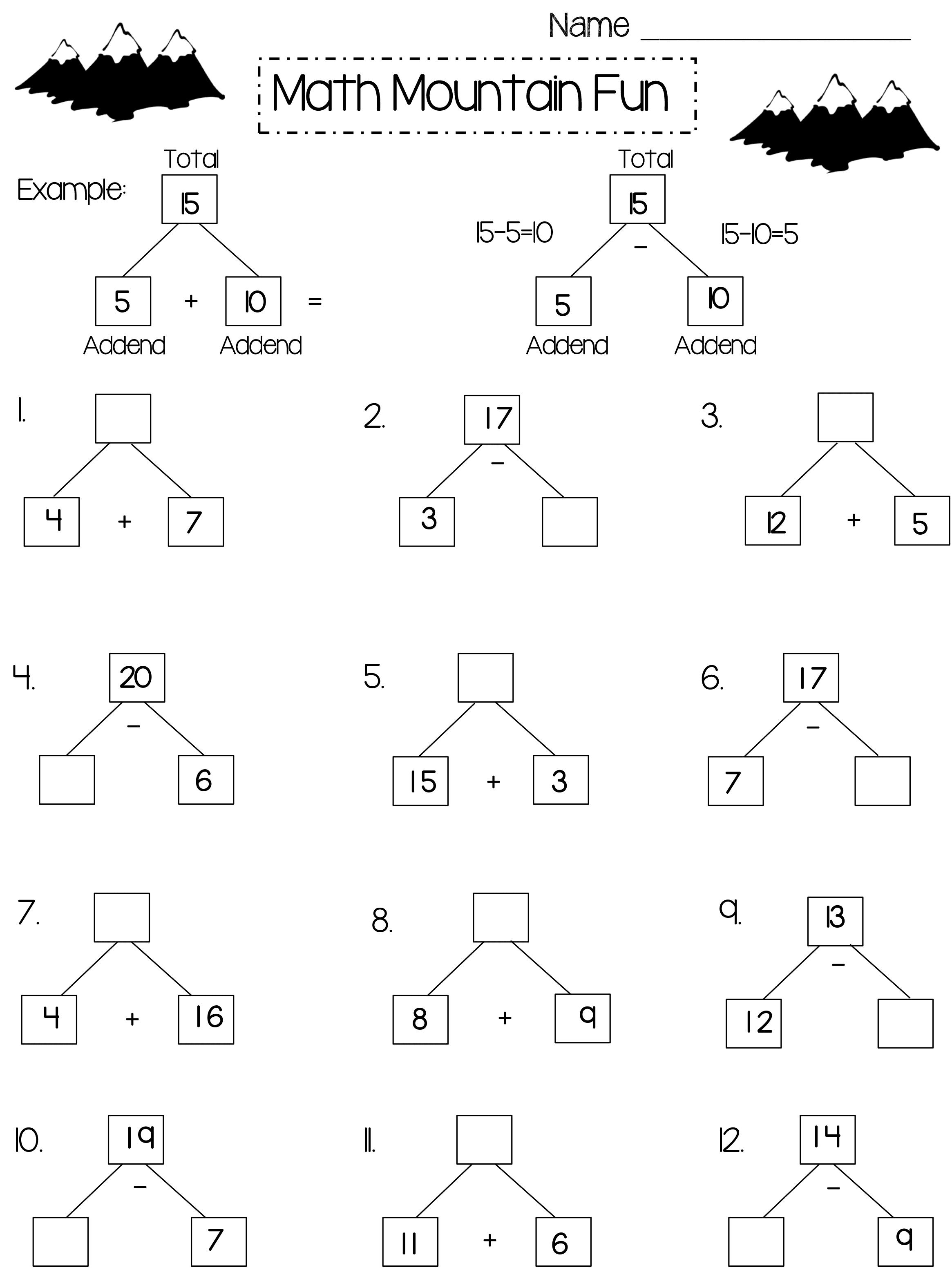 Feuilles d'exercices mathématiques de 2e année