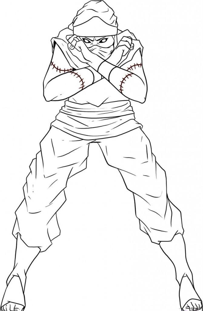 Coloriage Naruto